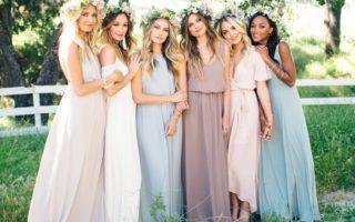 suknie druhen ślubnych