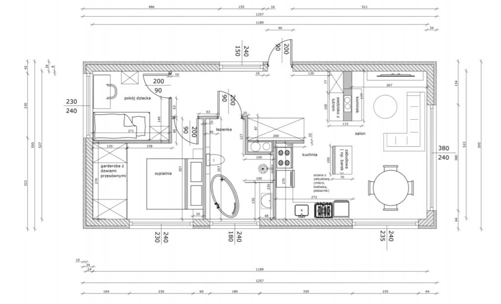 projektu metamorfozy starego domu na wsi