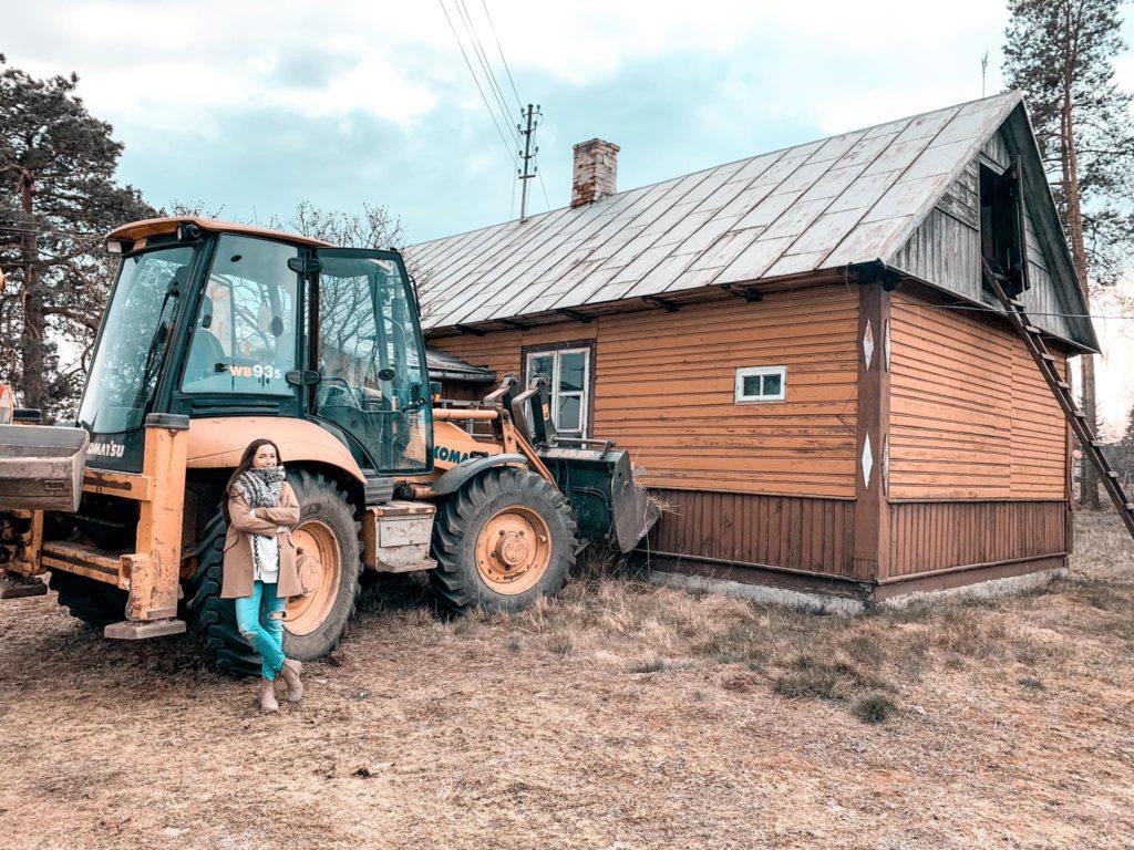 remont starego domu drewnianego krok po kroku
