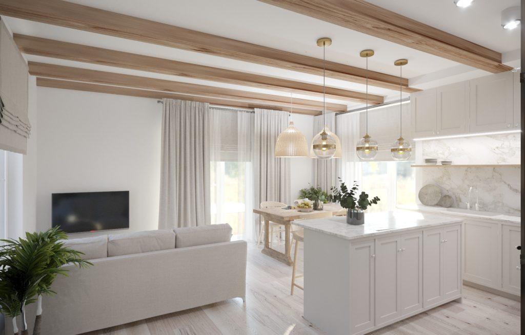 dom drewniany metamorfoza