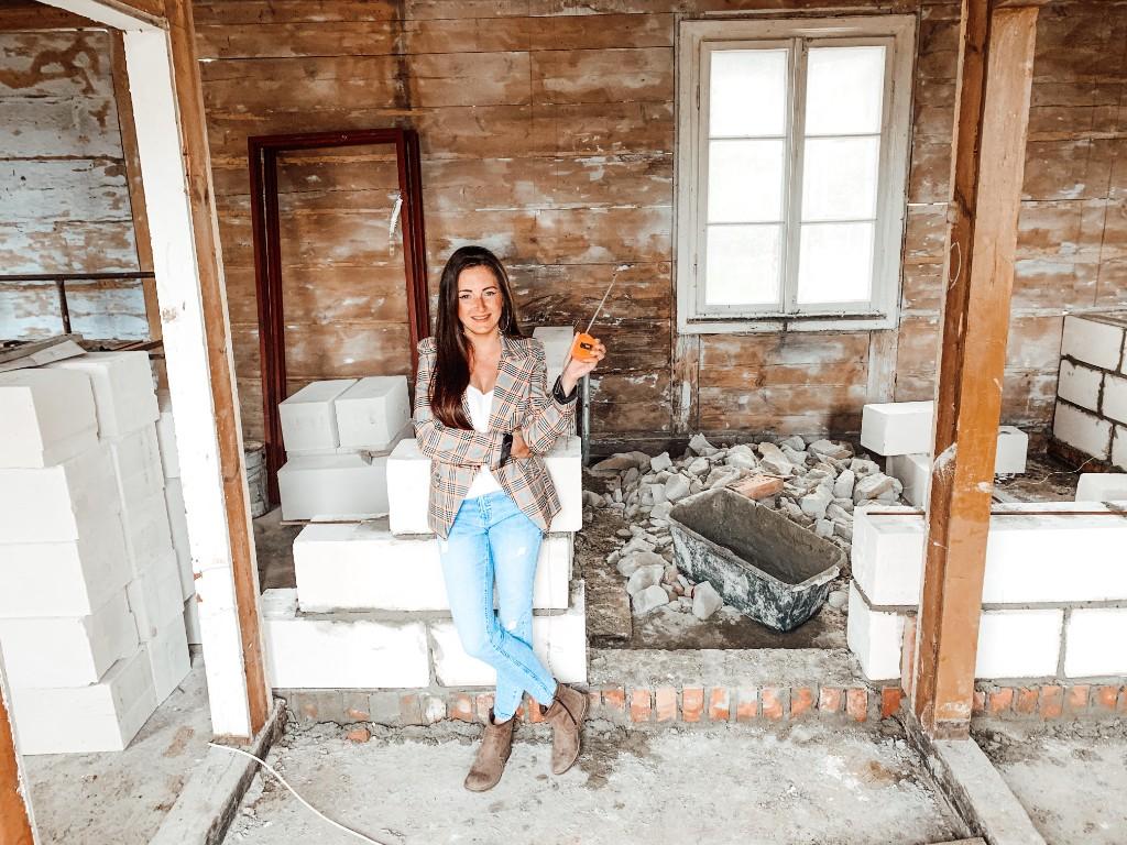 dom drewniany remont