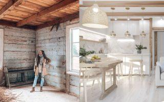 generalny remont starego domu na wsi