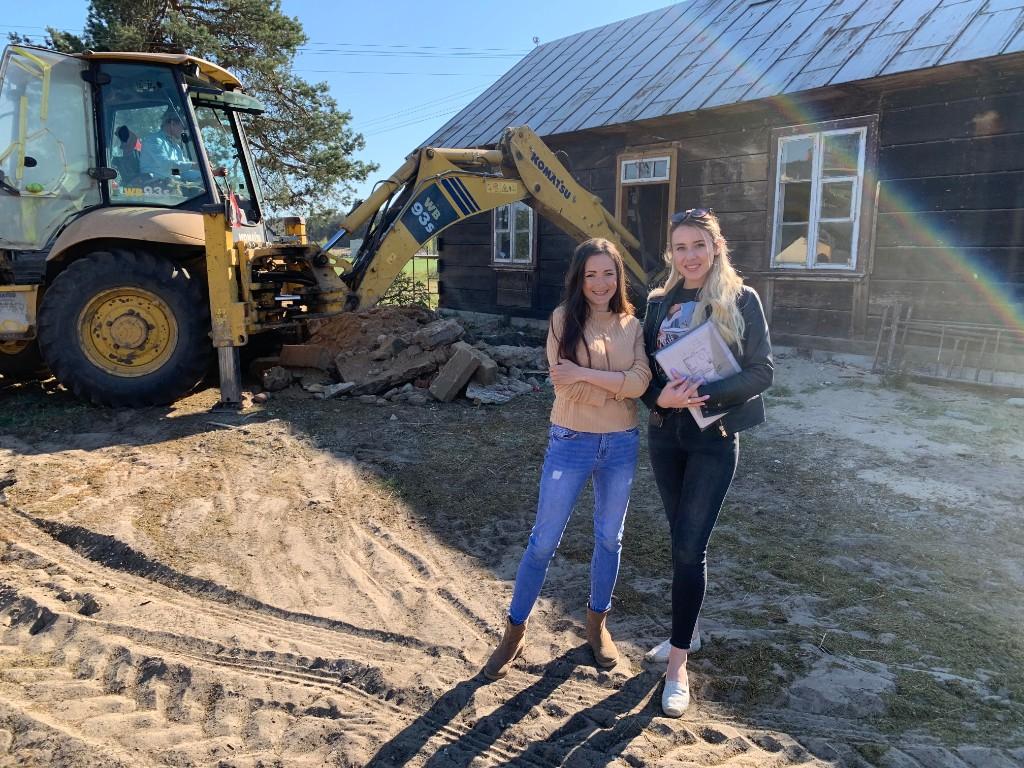 projekt remontu starej drewnianej chaty