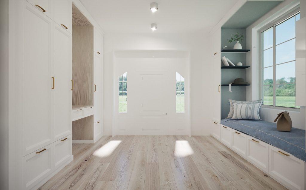 ganek metamorfoza starego domu drewnianego