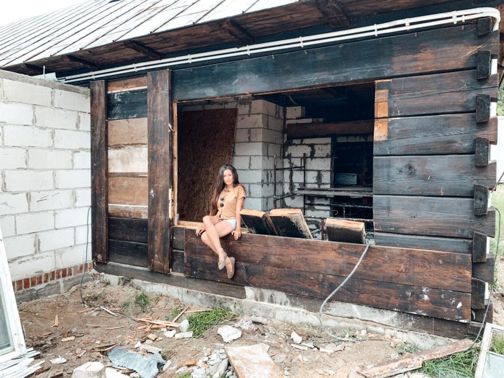 remont domu na wsi drewnianego