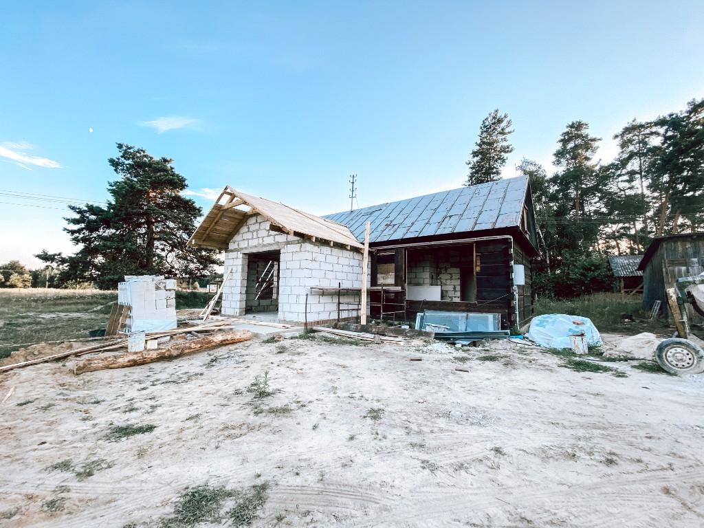 remont drewniany dom na wsi