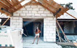 remont starego domu drewnianego na blogu