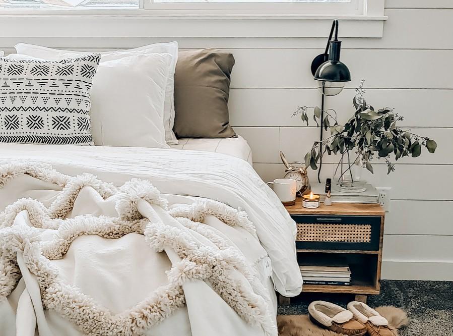hygge sypialnia