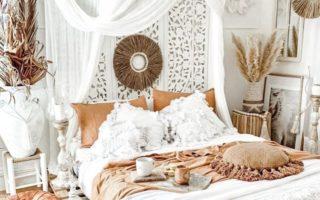 sypialnia boho dodatki