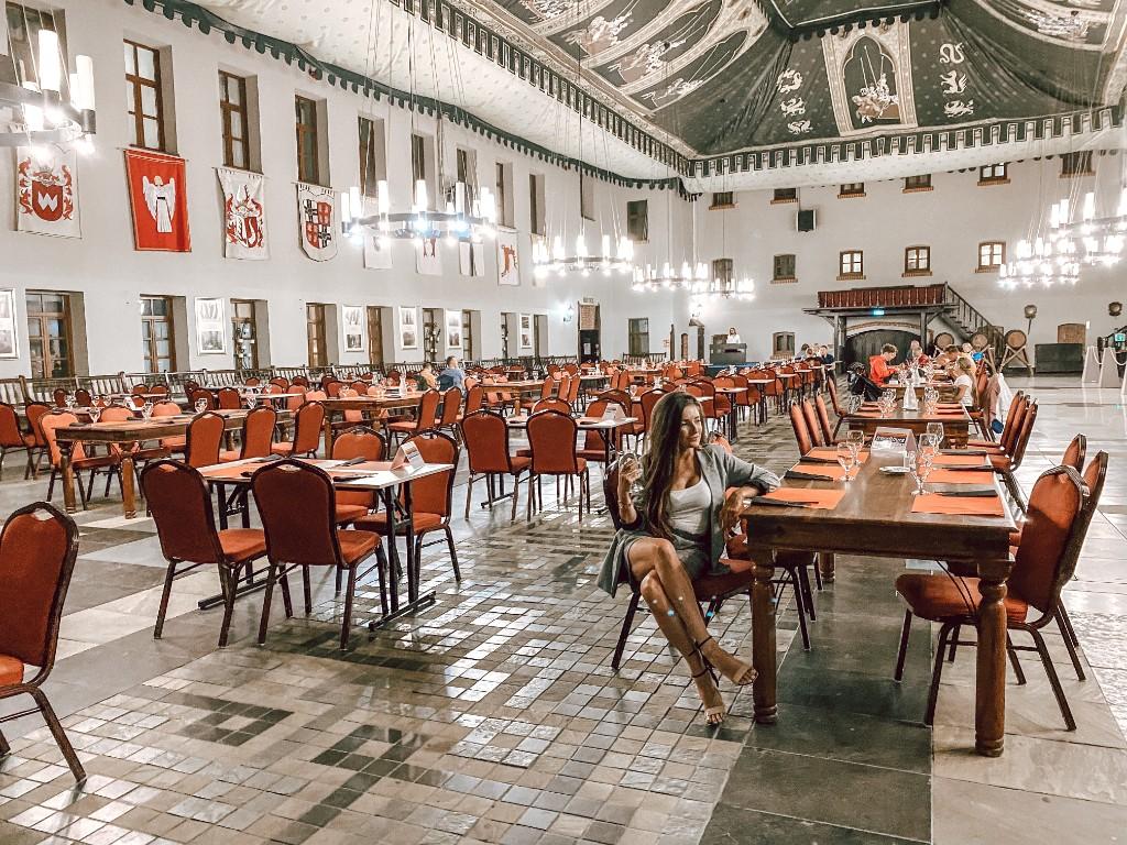 hotel zamek ryn restauracja