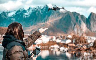 jak wykorzystać drona