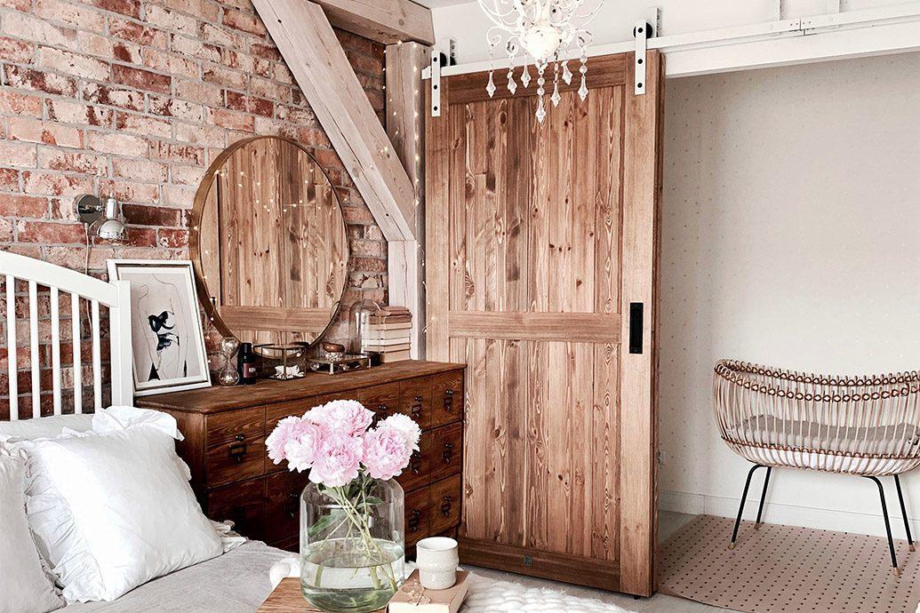 drzwi przesuwne jak do stodoły