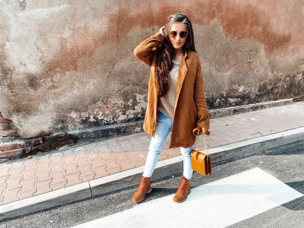 jesienna stylizacja blog