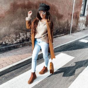 Jesienna stylizacja w czekoladowych kolorach – HOT or NOT?
