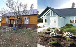 przebudowa starego domu na wsi