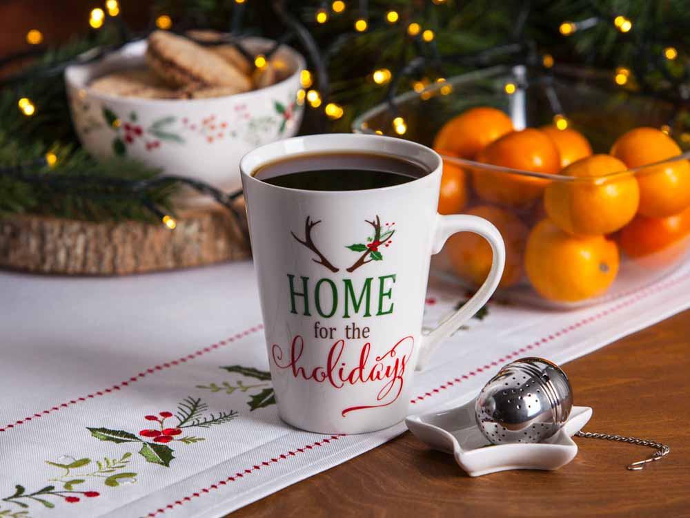 kubek świąteczny porcelana