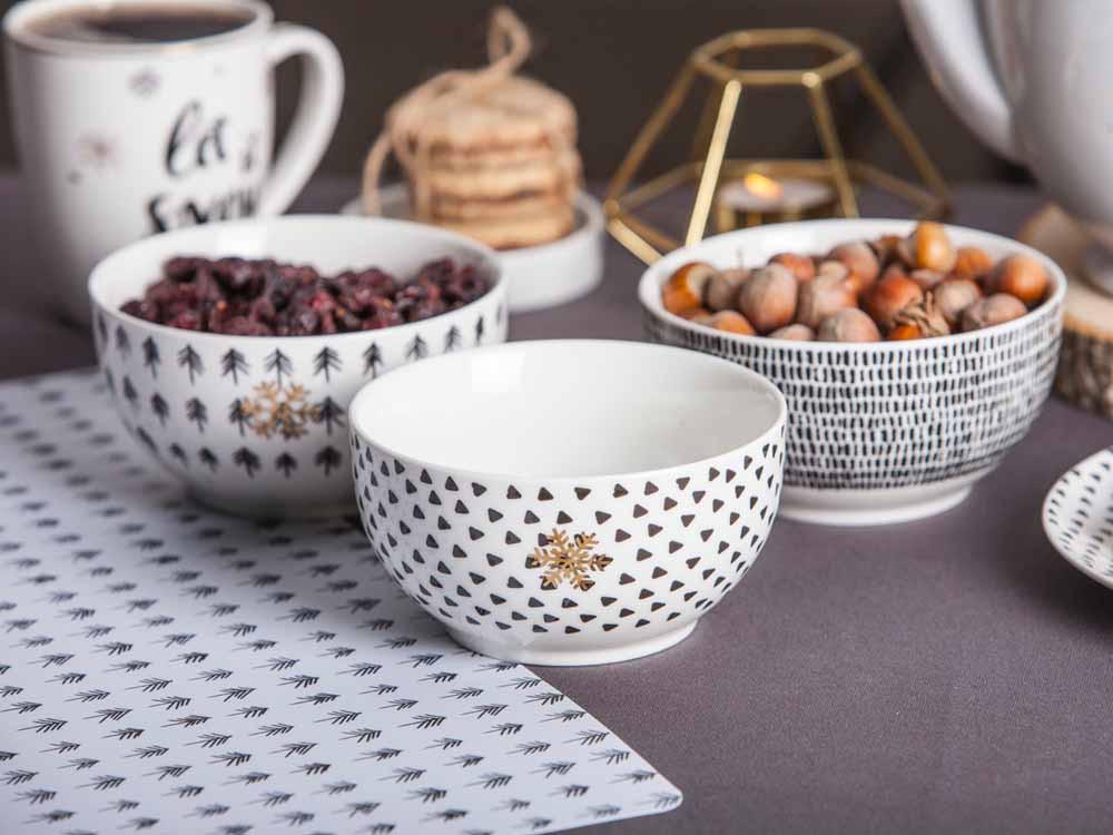 Salaterka / miseczka porcelanowa świąteczna Boże Narodzenie Altom Design