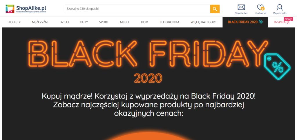 zniżki black friday 2020
