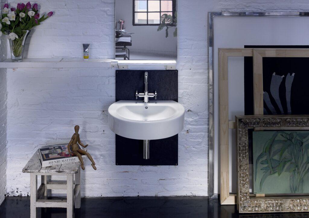 łazienka w stylu roca