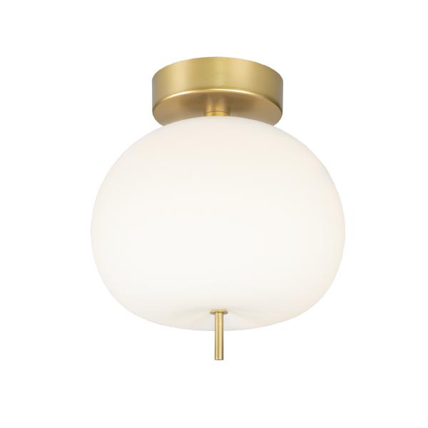 lampa sufitowa z elementami złota