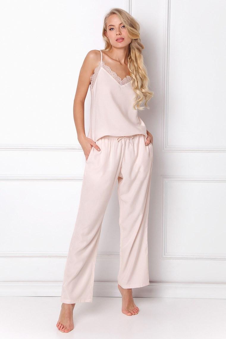 piżama pudrowy róż