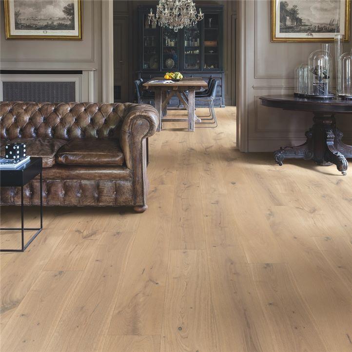 dębowa drewniana podłoga
