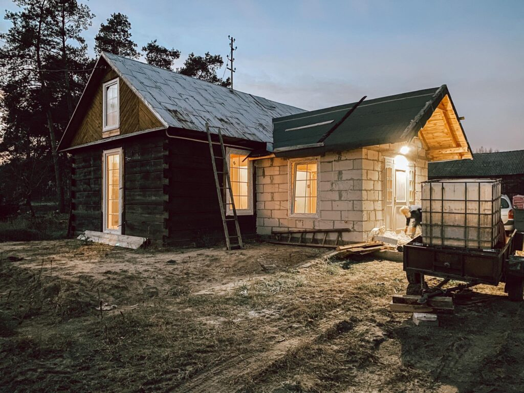dom remont starej chaty