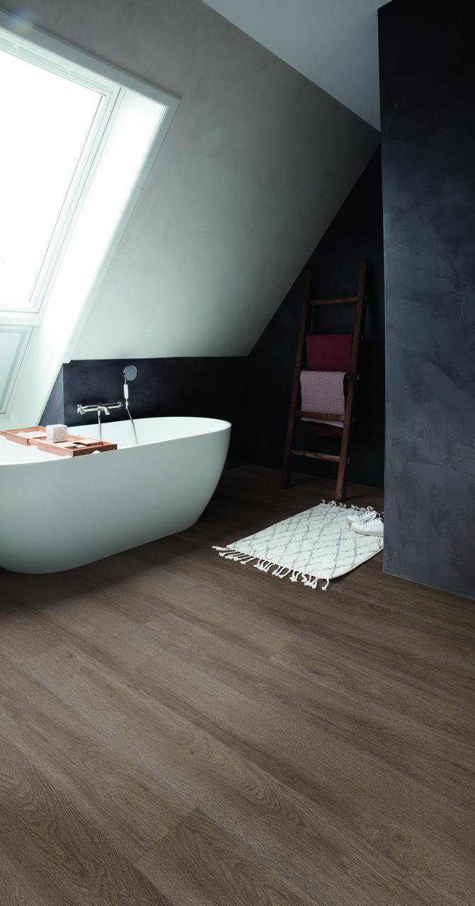 drewniane panele do łazienki