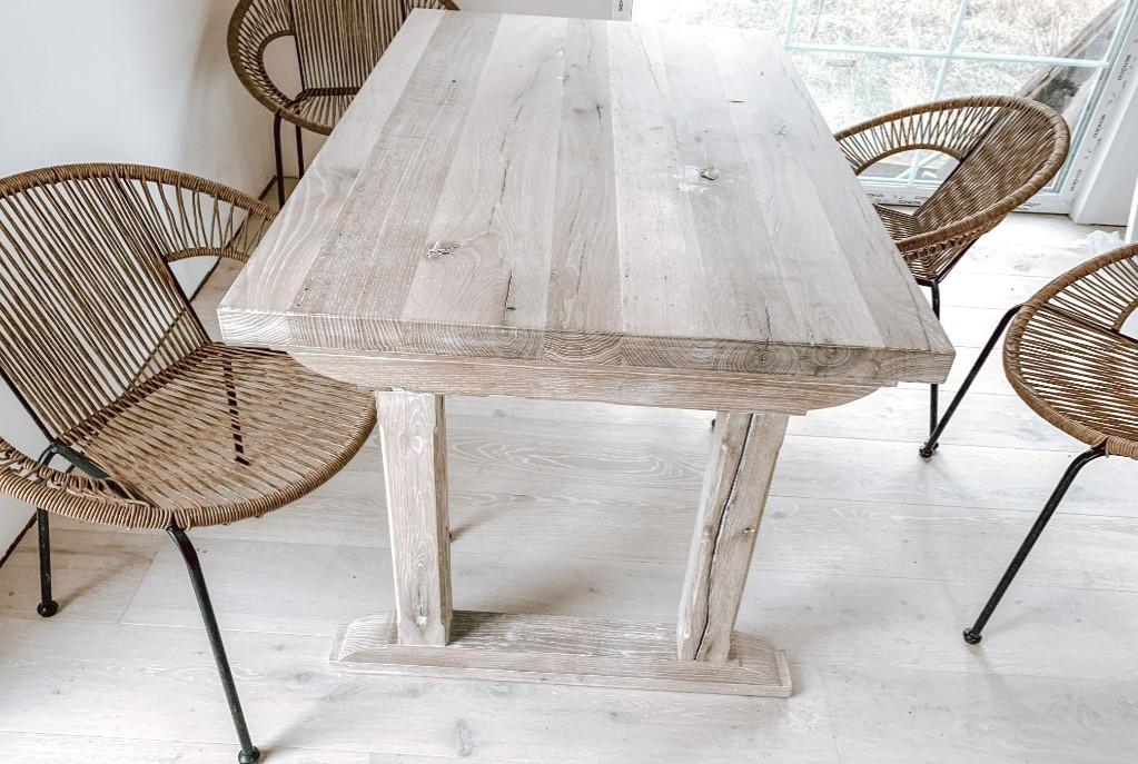 stół rustykalny debowy na zamówienie