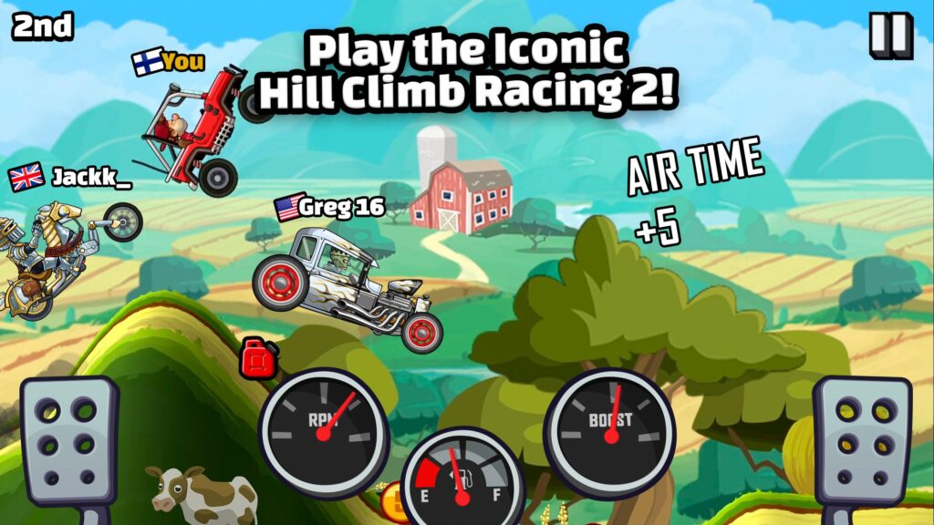 hill climb racing opis gry