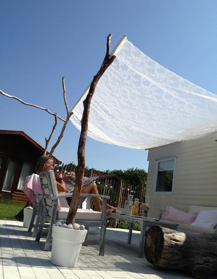 moskitiera ogrodowa diy