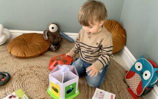 rozwojowa zabawka dla chłopca 2 lata