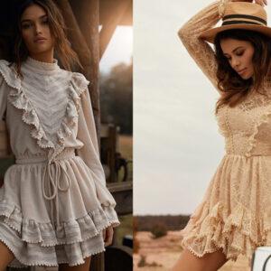 Boho sukienki i spódnice – modele na wiosnę 2021 [GALERIA]