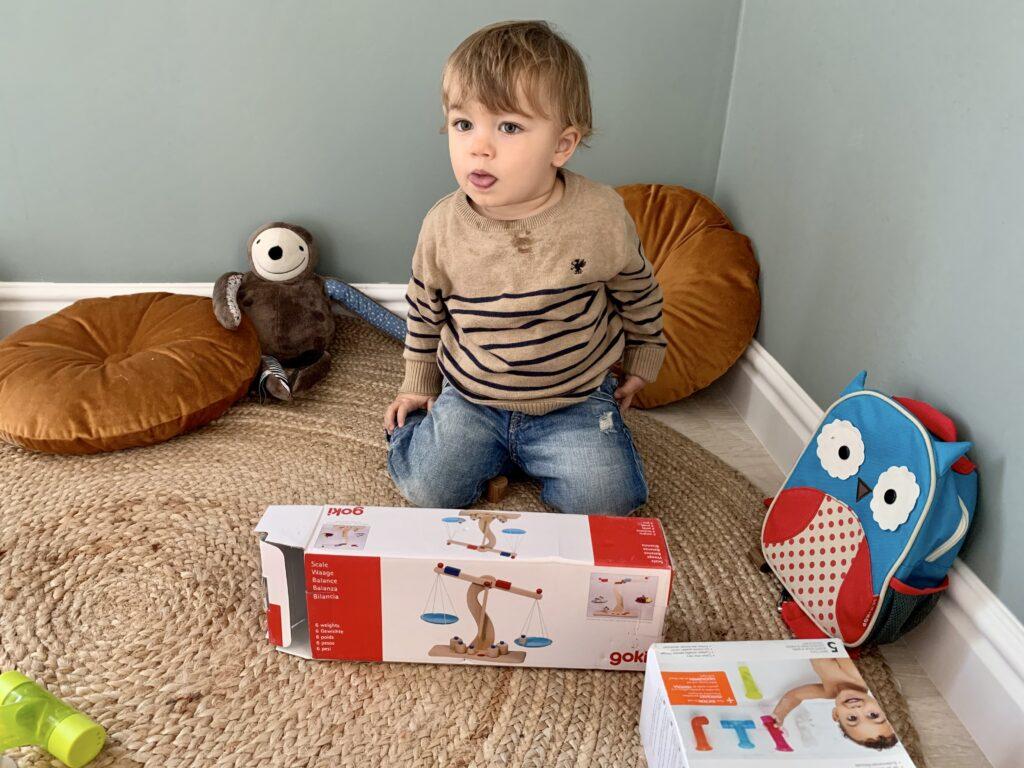 zabawki drewniane dla dziecka