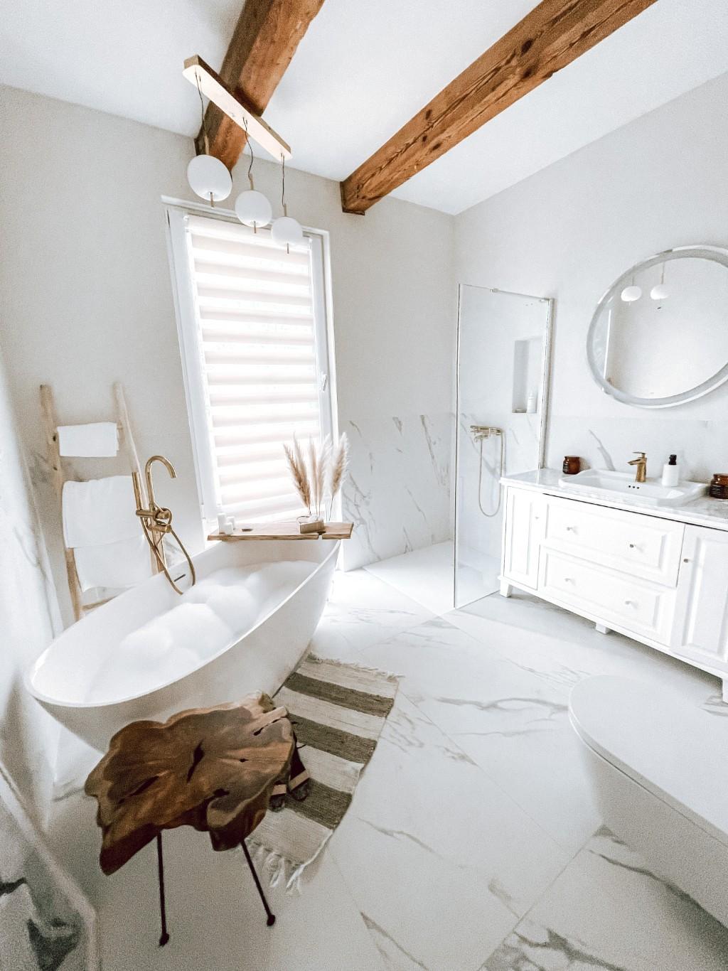 remont łazienki w starym domu