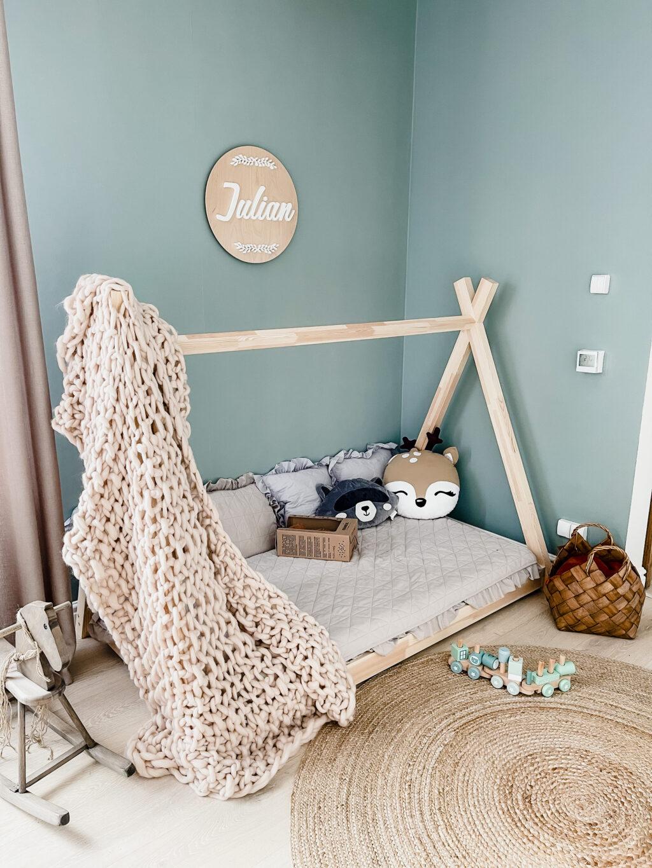 tipi łóżeczko dla dziecka