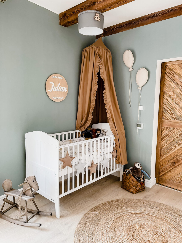 pokój dla dziecka vintage