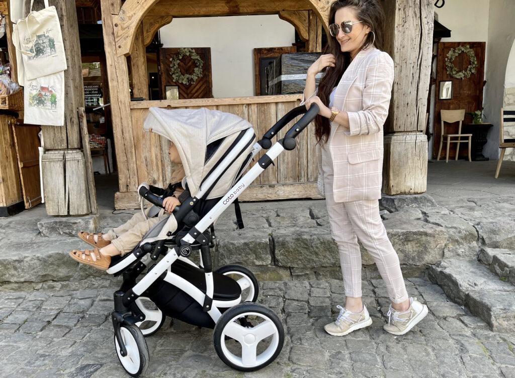 wózek dla dziecka elegancki