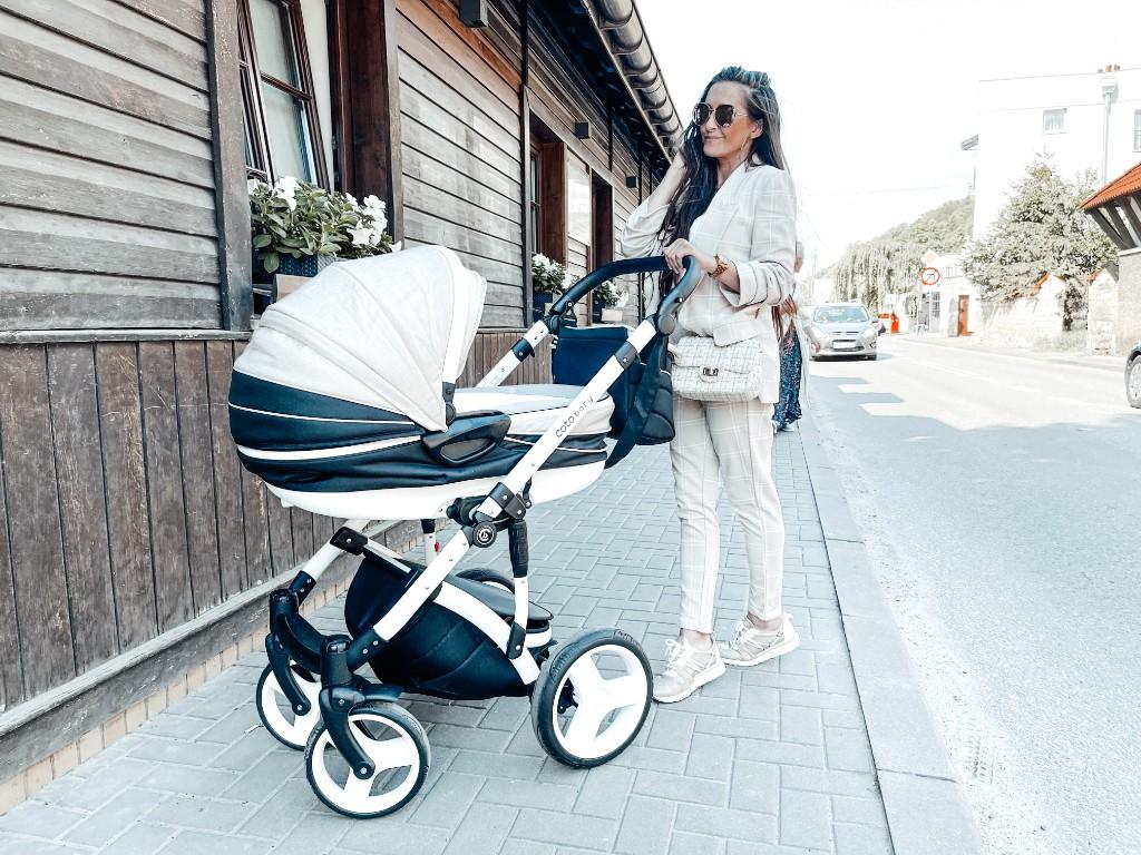 wózek dla niemowlaka dobre amortyzatory