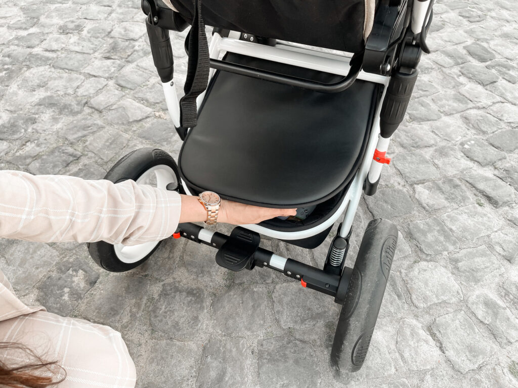 wózek praktyczny spacerówka