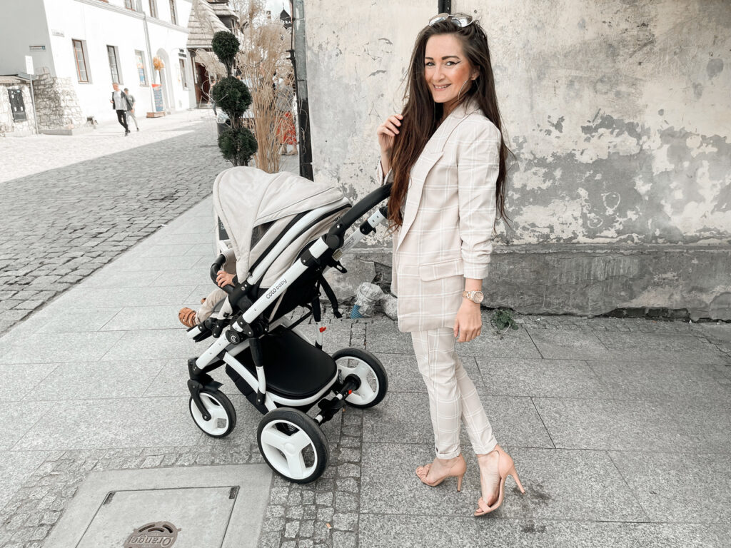 wózek spacerówka elegancki