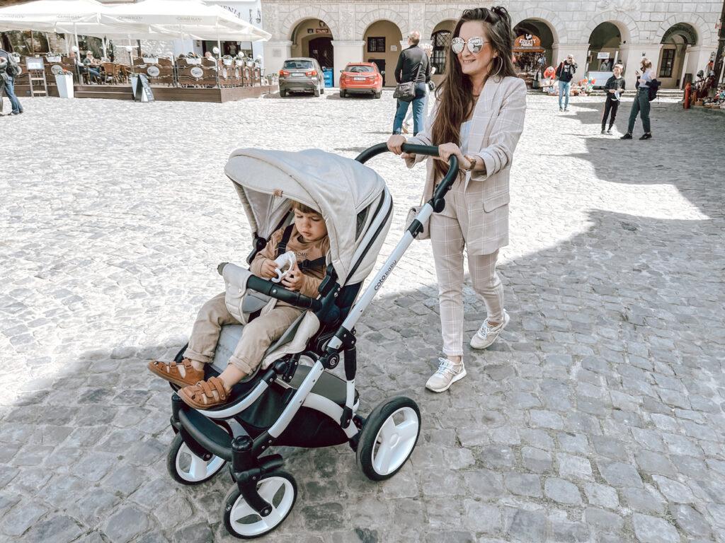 wózek spacerówka na miasto