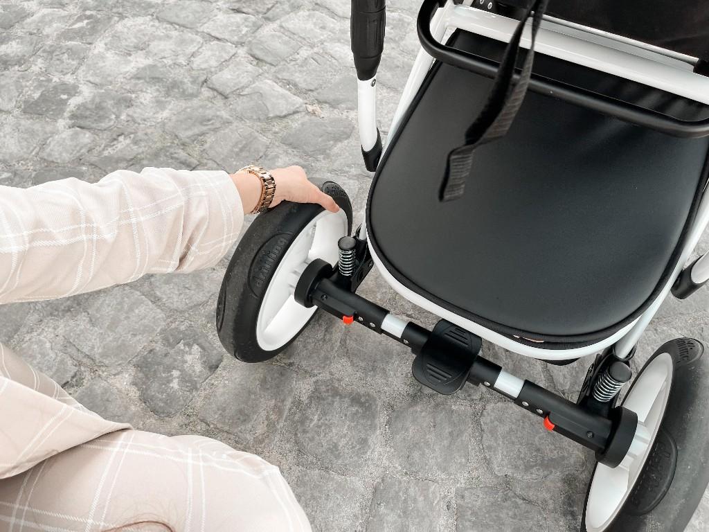 wózek z amortyzacją najlepszy