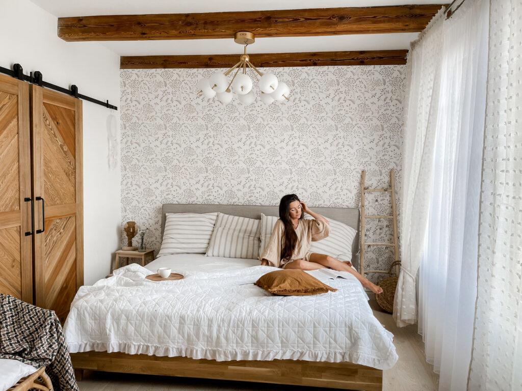 boho sypialnia