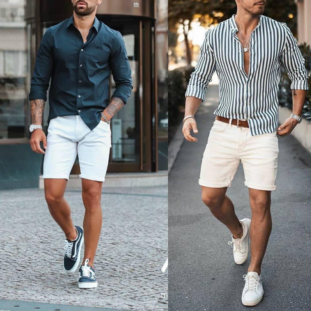 męska moda na lato