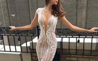 luksusowa sukienka