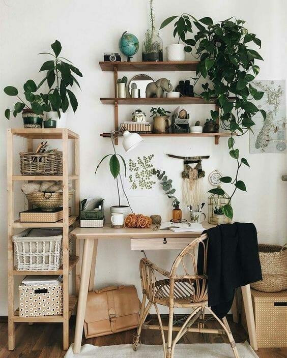 salon w stylu urban jungle